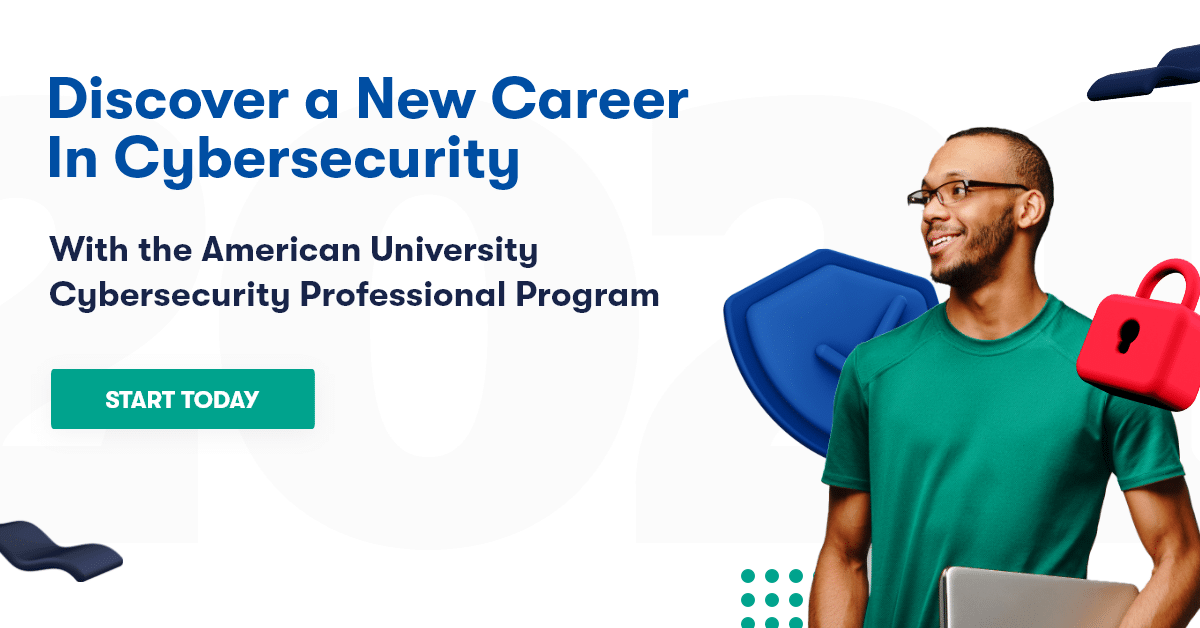 discover a new career in cybersecurity with American University