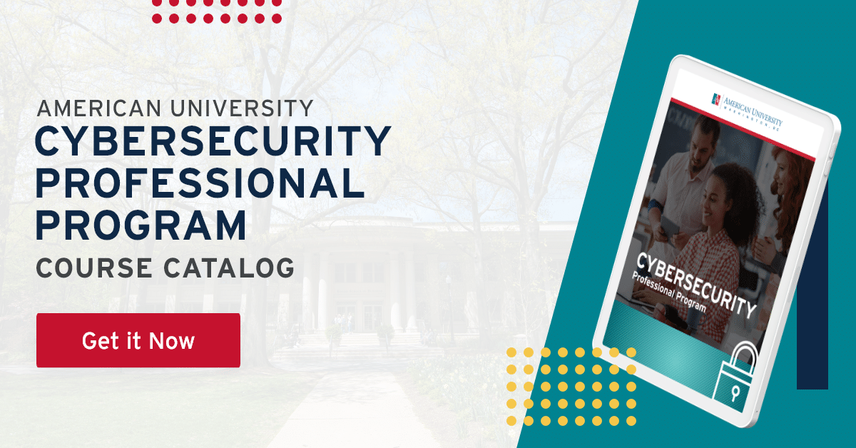cybersecurity course catalog